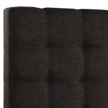 Bergen Queen Headboard Only, Onyx Linen