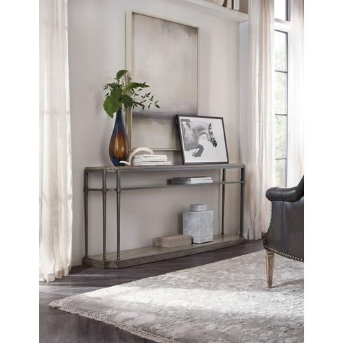 Living Room Woodlands Console Table w/ Metal