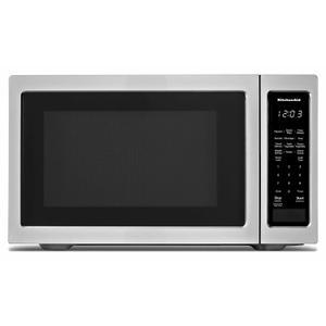 """KitchenAid21 3/4"""" Countertop Microwave Oven - 1200 Watt - Stainless Steel"""