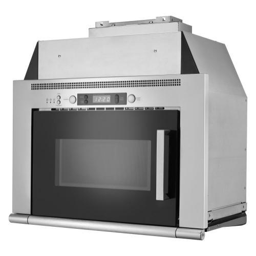 Maytag - 0.8 cu. ft. Space-Saving Microwave Hood Combination