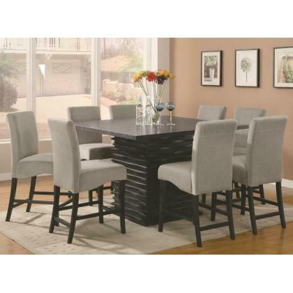 See Details - Stanton Contemporary Black Five-piece Dining Set
