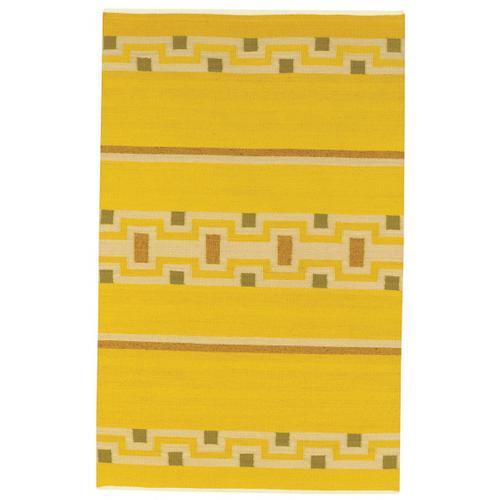 Woven Spirits-Navajo Sunflower Flat Woven Rugs