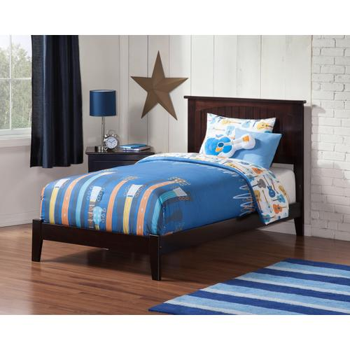 Nantucket Twin XL Bed in Espresso