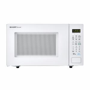 Sharp1.4 cu. ft. 1000W Sharp White Countertop Microwave Oven