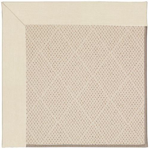 "Creative Concepts-White Wicker Canvas Sand - Rectangle - 24"" x 36"""