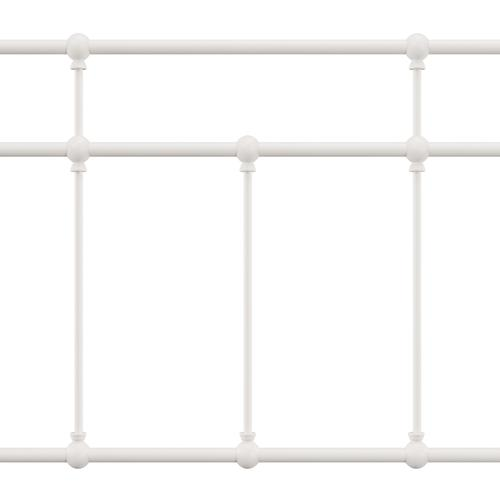 Hillsdale Furniture - Providence Metal Twin Bed, Soft White