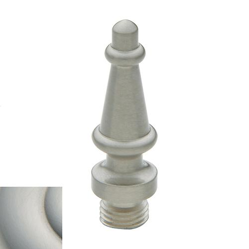 Satin Nickel with Lifetime Finish Steeple Finial