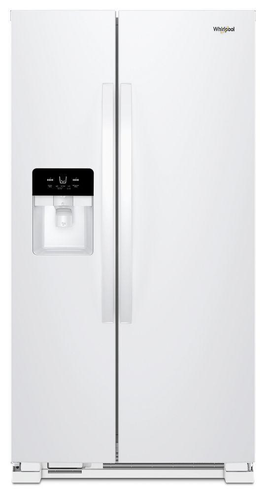 Whirlpool33-Inch Wide Side-By-Side Refrigerator - 21 Cu. Ft.