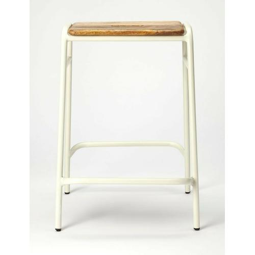 Butler Specialty Company - Everybody likes to entertain and this stool is perfect to gather around your kitchen island or counter. The easy-to-use handle means you can use it anywhere you need extra seating. Made of iron and mango wood.