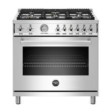 "See Details - 36"" Professional Series range - Gas oven - 6 brass burners - LP version"