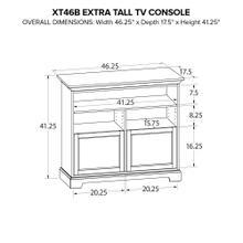 XT46B Extra Tall Custom TV Console