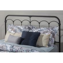 Jocelyn Duo Panel (headboard Only) - Full - Black Speckle