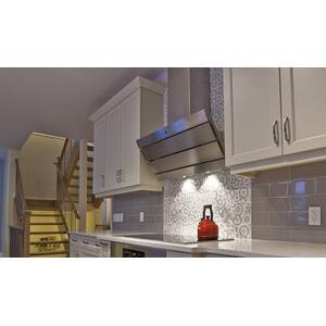 """Faber36"""" vertical wall hood stainless steel"""