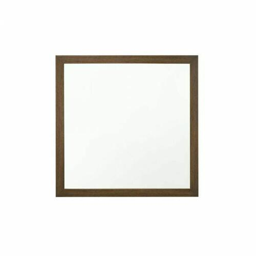 ACME Miquell Mirror - 28054 - Transitional - Veneer (Paper, LVB), PB, MDF, Chipboard - Oak