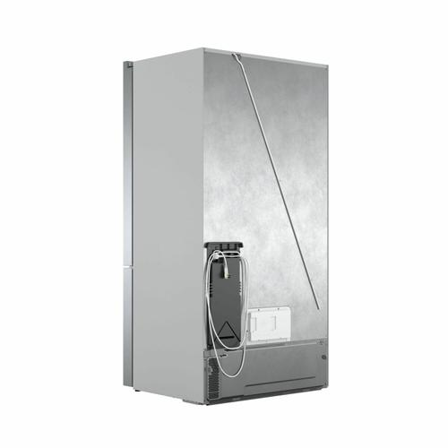 800 Series French Door Bottom Mount Refrigerator Easy clean stainless steel B36CT80SNS