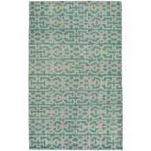 "Vintage-Keeneland Green - Rectangle - 3'6"" x 5'6"""