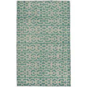 "Vintage-Keeneland Green - Rectangle - 3'6"" x 5'6"""