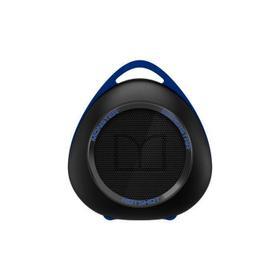 SuperStar HotShot Portable Bluetooth Speaker - Black with Neon Blue