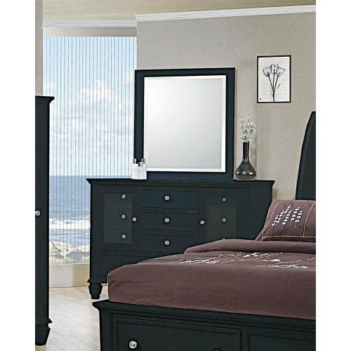 Coaster - Sandy Beach Black 11-drawer Dresser