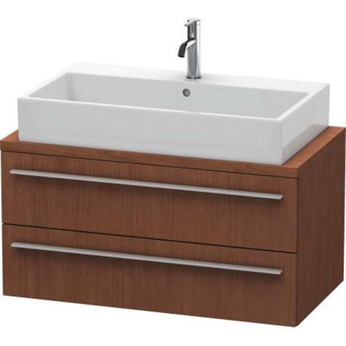 Duravit - Vanity Unit For Console Compact, American Walnut (real Wood Veneer)