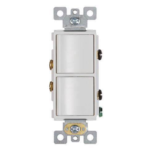 2-Function Rocker Switch Wall Control for Bathroom Exhaust Fan