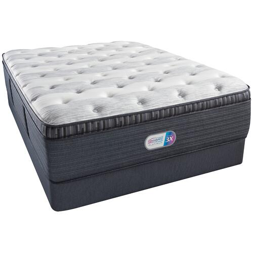 BeautyRest - Platinum - Clover Springs - Plush - Pillow Top - Cal King
