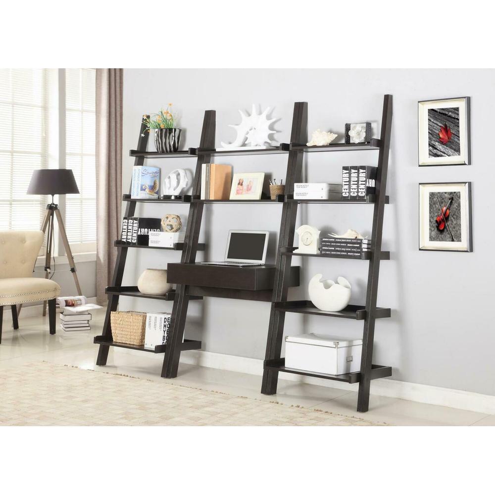 3 PC Ladder Bookcase Set