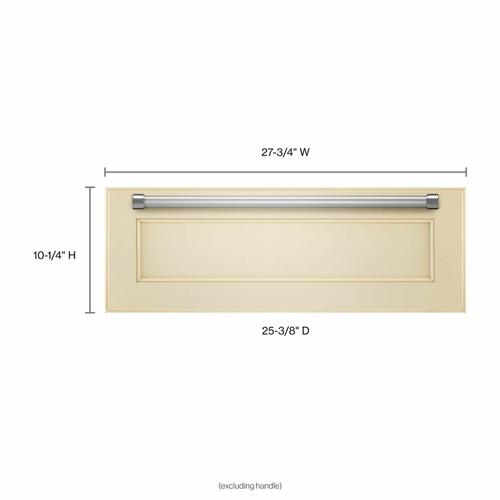 Gallery - 27'' Slow Cook Warming Drawer, Panel-Ready - Panel Ready PA