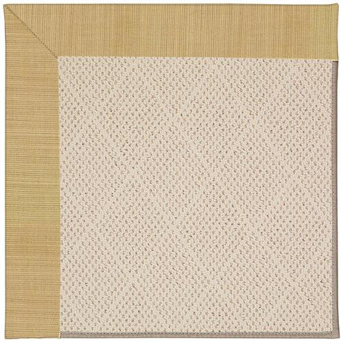 Creative Concepts-White Wicker Dupione Bamboo Machine Tufted Rugs