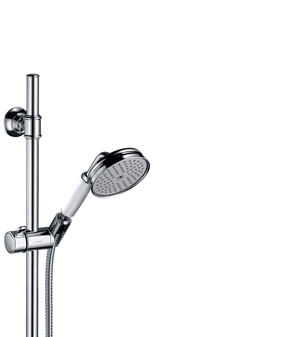 Chrome Shower set 0.90 m with hand shower 100 1jet Product Image