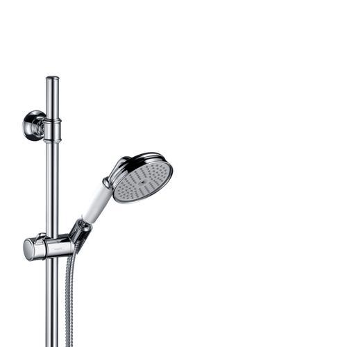 Chrome Shower set 0.90 m with hand shower 100 1jet