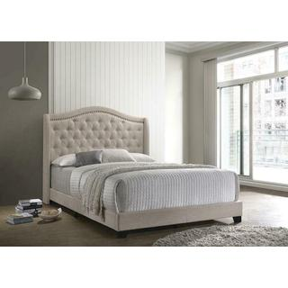 Allison Queen Bedframe Beige