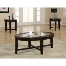 See Details - Contemporary Cappuccino Three-piece Set