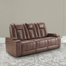 See Details - MEGATRON - UMBER Power Drop Down Console Sofa