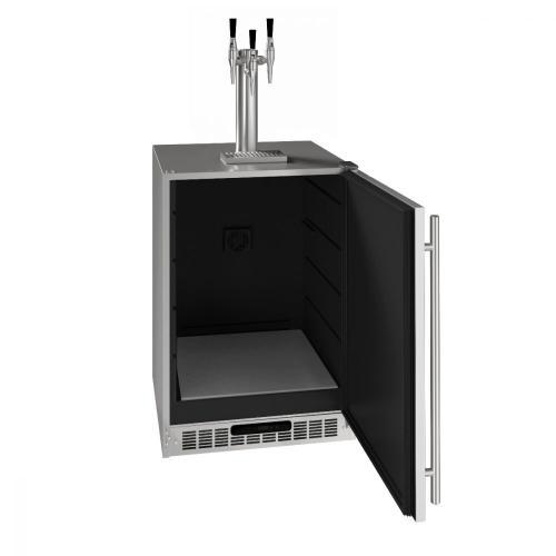 "U-Line - 24"" 3 Tap Nitro Coffee Dispenser With Stainless Solid Finish (115 V/60 Hz Volts /60 Hz Hz)"
