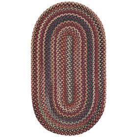 Bear Creek Heritage Red Braided Rugs (Custom)