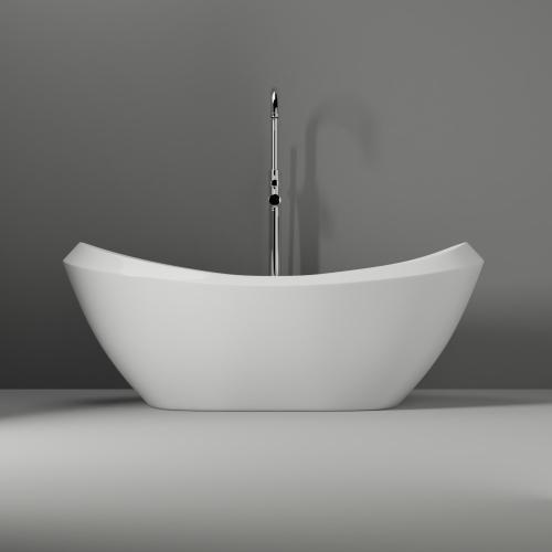 "Naomi 67"" Acrylic Double Slipper Tub"
