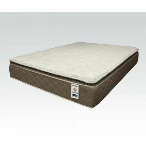 """ACME Englander Silver California King Mattress - 29133 - 12"""" Pillow Top"""
