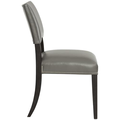 Moore Leather Side Chair