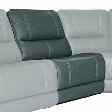 SHELBY - CABRERA AZURE Manual Armless Recliner