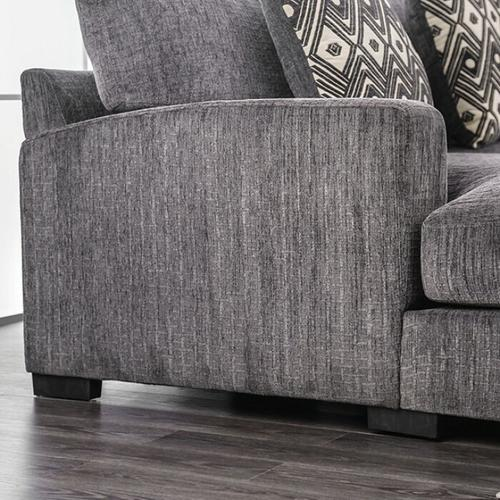 Furniture of America - Kaylee L-sectional W/ Right Chaise
