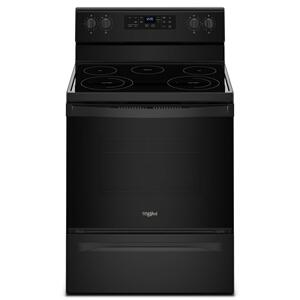 Whirlpool5.3 cu. ft. Freestanding Electric Range with Frozen Bake Technology Black