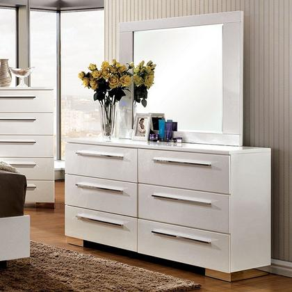 Clementine Dresser & Mirror (Dresser has small damage on the lower back)