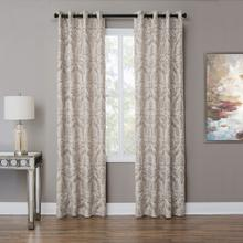 See Details - Atchinson 50x84 Grommet Top Panel Weighted Corners Pewter