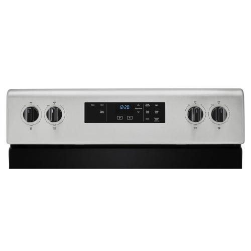 Whirlpool - 4.8 cu. ft. Whirlpool® electric range with Keep Warm setting