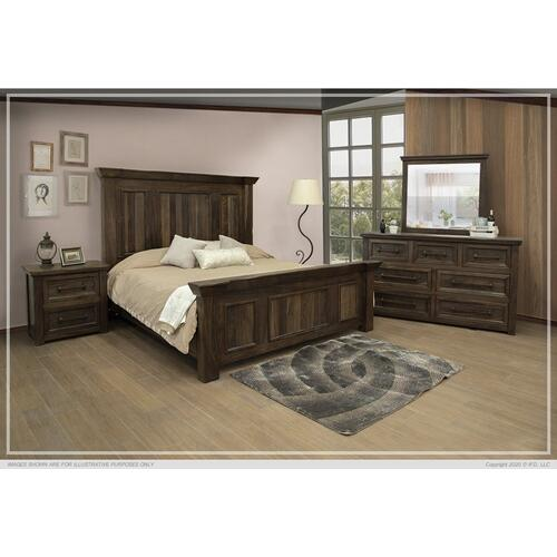 Palencia King-Size Complete Bed