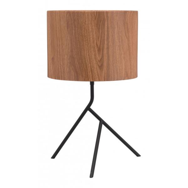 Sutton Table Lamp Brown & Black
