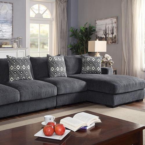Furniture of America - Kaylee Large L-sectional W/ Right Chaise