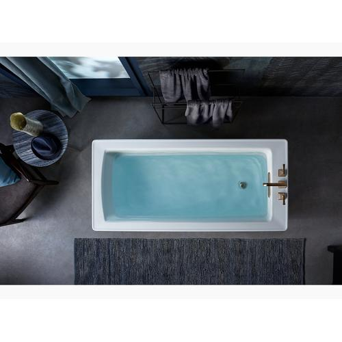 "White 68"" X 32"" Freestanding Bath"