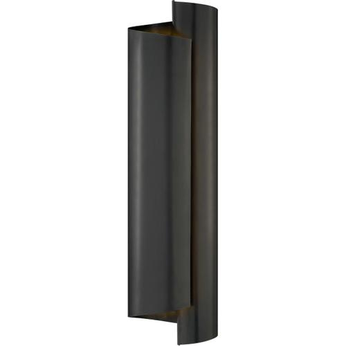 Visual Comfort - AERIN Iva 3 Light 6 inch Bronze Wrapped Sconce Wall Light, Large